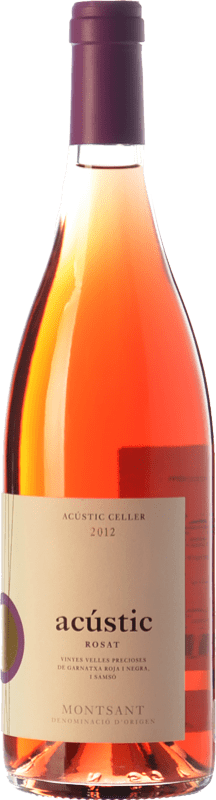 13,95 € 免费送货 | 玫瑰酒 Acústic Rosat D.O. Montsant 加泰罗尼亚 西班牙 Grenache, Carignan, Grenache Grey 瓶子 75 cl