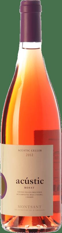 13,95 € Envío gratis | Vino rosado Acústic Rosat D.O. Montsant Cataluña España Garnacha, Cariñena, Garnacha Gris Botella 75 cl
