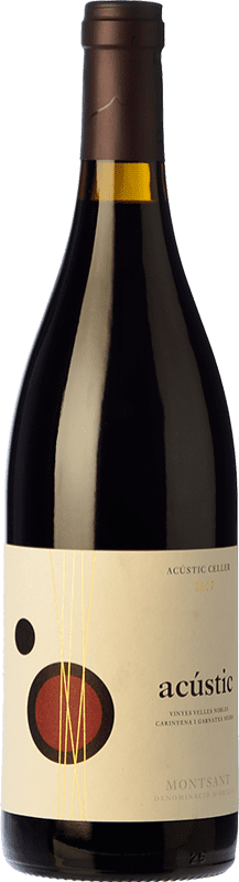 13,95 € | Red wine Acústic Crianza D.O. Montsant Catalonia Spain Grenache, Samsó Bottle 75 cl