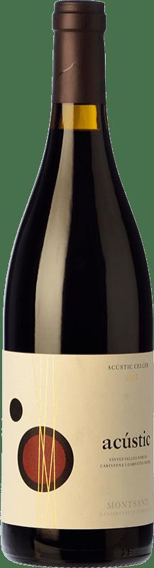 13,95 € Envío gratis | Vino tinto Acústic Crianza D.O. Montsant Cataluña España Garnacha, Samsó Botella 75 cl