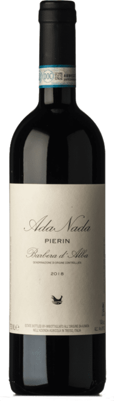 17,95 € Free Shipping | Red wine Ada Nada Pierin D.O.C. Barbera d'Alba Piemonte Italy Barbera Bottle 75 cl