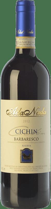 59,95 € Free Shipping | Red wine Ada Nada Riserva Cichin Reserva D.O.C.G. Barbaresco Piemonte Italy Nebbiolo Bottle 75 cl
