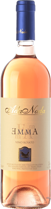 9,95 € Free Shipping | Rosé wine Ada Nada Rosato Emma D.O.C. Langhe Piemonte Italy Nebbiolo Bottle 75 cl