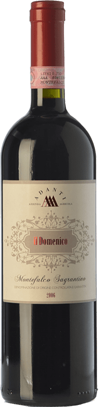 39,95 € Free Shipping | Red wine Adanti Il Domenico 2006 D.O.C.G. Sagrantino di Montefalco Umbria Italy Sagrantino Bottle 75 cl