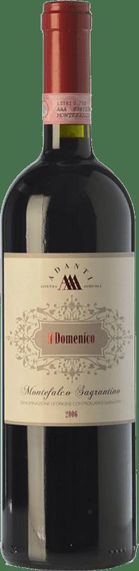 37,95 € | Red wine Adanti Il Domenico D.O.C.G. Sagrantino di Montefalco Umbria Italy Sagrantino Bottle 75 cl