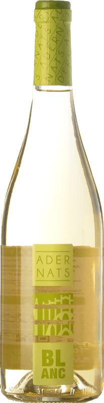 4,95 € Free Shipping | White wine Adernats Blanc Joven D.O. Tarragona Catalonia Spain Macabeo, Xarel·lo, Parellada Bottle 75 cl