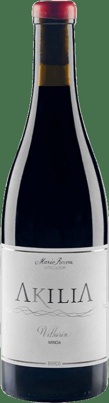 18,95 € Free Shipping | Red wine Akilia Villarín Joven D.O. Bierzo Castilla y León Spain Mencía Bottle 75 cl