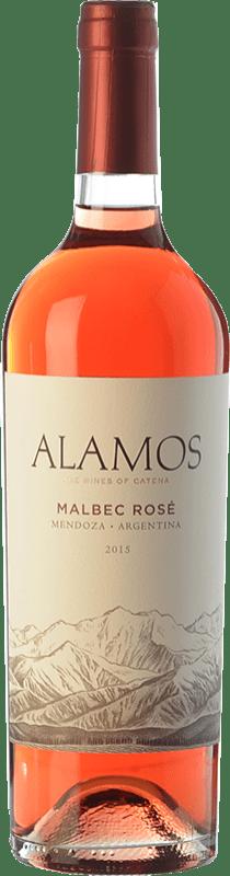8,95 € Free Shipping | Rosé wine Alamos Rosé I.G. Mendoza Mendoza Argentina Malbec Bottle 75 cl