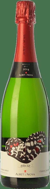 14,95 € 免费送货 | 白起泡酒 Albet i Noya Efecte 香槟 Reserva D.O. Penedès 加泰罗尼亚 西班牙 Macabeo, Xarel·lo, Chardonnay, Parellada 瓶子 75 cl