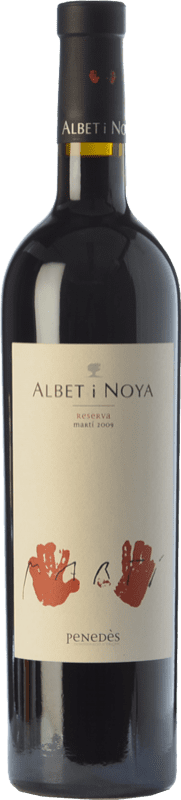 37,95 € Free Shipping | Red wine Albet i Noya Martí Reserva D.O. Penedès Catalonia Spain Syrah, Cabernet Sauvignon Bottle 75 cl