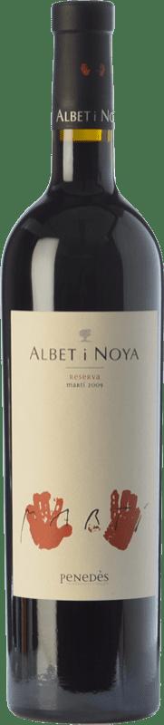 37,95 € Envío gratis | Vino tinto Albet i Noya Martí Reserva D.O. Penedès Cataluña España Syrah, Cabernet Sauvignon Botella 75 cl