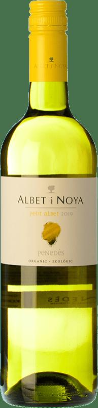 7,95 € Free Shipping | White wine Albet i Noya Petit Albet Blanc D.O. Penedès Catalonia Spain Macabeo, Xarel·lo, Chardonnay Bottle 75 cl