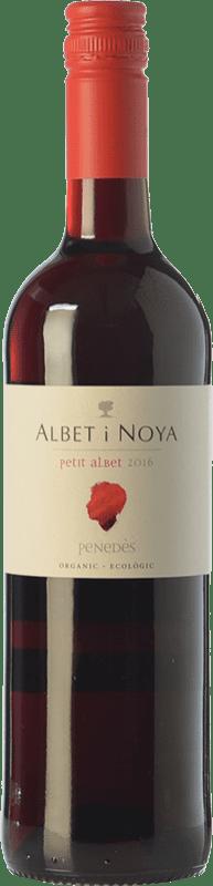 6,95 € Free Shipping | Red wine Albet i Noya Petit Albet Negre Joven D.O. Penedès Catalonia Spain Tempranillo, Grenache, Cabernet Sauvignon Bottle 75 cl