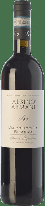 17,95 € Free Shipping | Red wine Albino Armani Superiore D.O.C. Valpolicella Ripasso Veneto Italy Corvina, Rondinella, Corvinone Bottle 75 cl