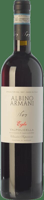 12,95 € | Red wine Albino Armani Superiore Egle D.O.C. Valpolicella Veneto Italy Corvina, Rondinella, Corvinone Bottle 75 cl