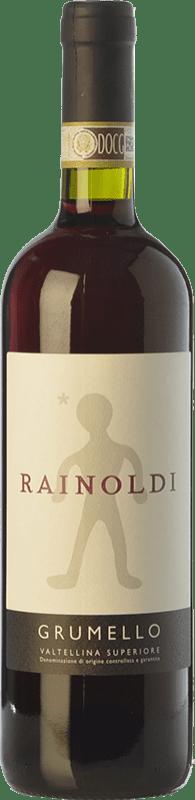 21,95 € | Red wine Rainoldi Grumello D.O.C.G. Valtellina Superiore Lombardia Italy Nebbiolo Bottle 75 cl