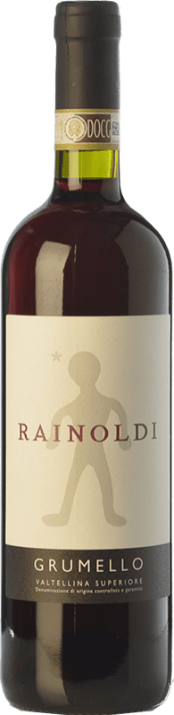 21,95 € Envío gratis | Vino tinto Rainoldi Grumello D.O.C.G. Valtellina Superiore Lombardia Italia Nebbiolo Botella 75 cl