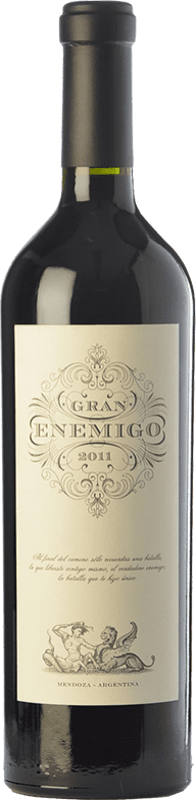 74,95 € 免费送货 | 红酒 Aleanna Gran Enemigo Reserva I.G. Mendoza 门多萨 阿根廷 Cabernet Sauvignon, Cabernet Franc, Malbec, Petit Verdot 瓶子 75 cl