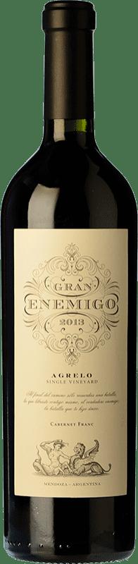 114,95 € 免费送货 | 红酒 Aleanna Gran Enemigo Agrelo Single Vineyard Crianza I.G. Mendoza 门多萨 阿根廷 Cabernet Franc, Malbec 瓶子 75 cl
