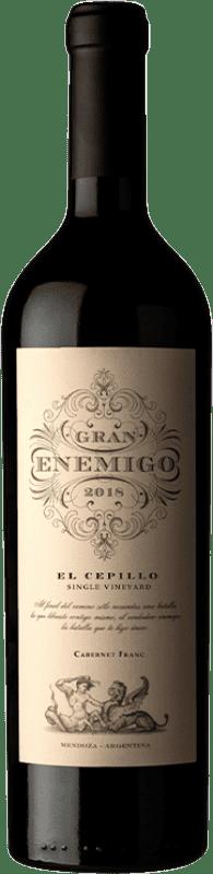 114,95 € 免费送货 | 红酒 Aleanna Gran Enemigo El Cepillo Cabernet Franc Crianza I.G. Mendoza 门多萨 阿根廷 Cabernet Franc, Malbec 瓶子 75 cl