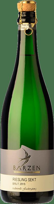 19,95 € | White sparkling Barzen Sekt Brut Q.b.A. Mosel Rheinland-Pfälz Germany Riesling Bottle 75 cl