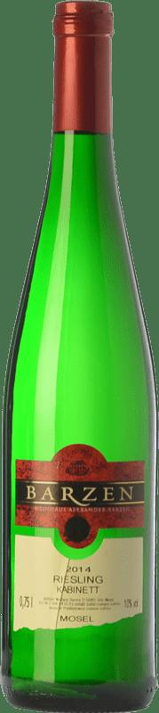 15,95 € | White wine Barzen Kabinett Q.b.A. Mosel Rheinland-Pfälz Germany Riesling Bottle 75 cl