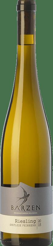 17,95 € | White wine Barzen Spätlese Feinherb Q.b.A. Mosel Rheinland-Pfälz Germany Riesling Bottle 75 cl
