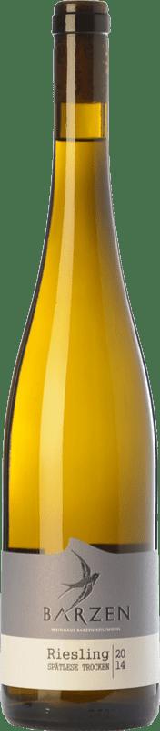 17,95 € | White wine Barzen Spätlese Trocken Q.b.A. Mosel Rheinland-Pfälz Germany Riesling Bottle 75 cl