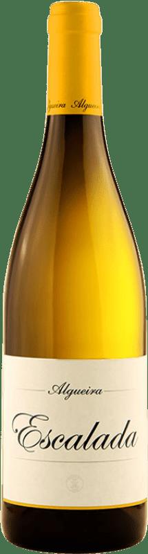55,95 € | White wine Algueira Escalada Crianza D.O. Ribeira Sacra Galicia Spain Godello Bottle 75 cl