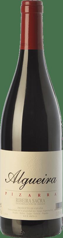 51,95 € | Red wine Algueira Pizarra Crianza D.O. Ribeira Sacra Galicia Spain Mencía Bottle 75 cl