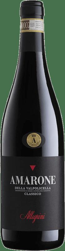 87,95 € 免费送货 | 红酒 Allegrini Classico D.O.C.G. Amarone della Valpolicella 威尼托 意大利 Corvina, Rondinella, Corvinone, Oseleta 瓶子 75 cl