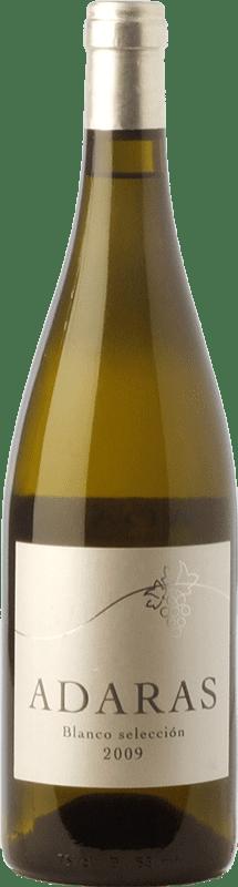 11,95 € | White wine Almanseñas Adaras Selección Crianza D.O. Almansa Castilla la Mancha Spain Verdejo, Sauvignon White Bottle 75 cl