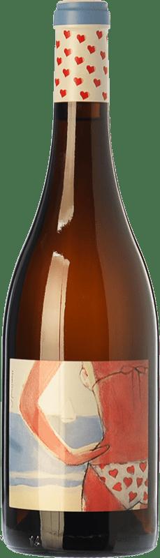 29,95 € | White wine Almázcara Majara Demasiado Corazón Crianza D.O. Bierzo Castilla y León Spain Godello Bottle 75 cl