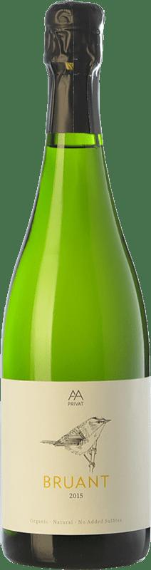 19,95 € Envoi gratuit | Blanc moussant Alta Alella AA Bruant Natural Brut Reserva D.O. Cava Catalogne Espagne Xarel·lo Bouteille 75 cl