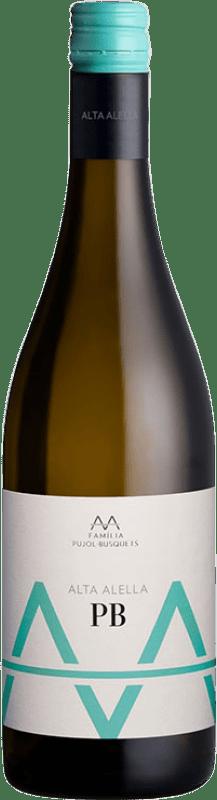 9,95 € 免费送货 | 白酒 Alta Alella AA D.O. Alella 加泰罗尼亚 西班牙 Pensal White 瓶子 75 cl
