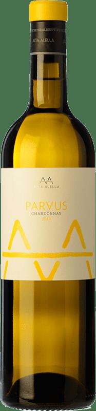 8,95 € 免费送货 | 白酒 Alta Alella AA Parvus Chardonnay Crianza D.O. Alella 加泰罗尼亚 西班牙 Chardonnay, Pensal White 瓶子 75 cl