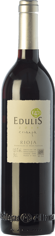 7,95 € Envoi gratuit | Vin rouge Altanza Edulis Crianza D.O.Ca. Rioja La Rioja Espagne Tempranillo Bouteille 75 cl