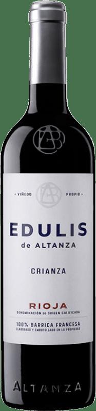 7,95 € Envío gratis | Vino tinto Altanza Edulis Crianza D.O.Ca. Rioja La Rioja España Tempranillo Botella 75 cl