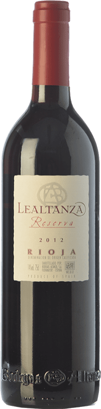13,95 € | Red wine Altanza Lealtanza Reserva D.O.Ca. Rioja The Rioja Spain Tempranillo Bottle 75 cl
