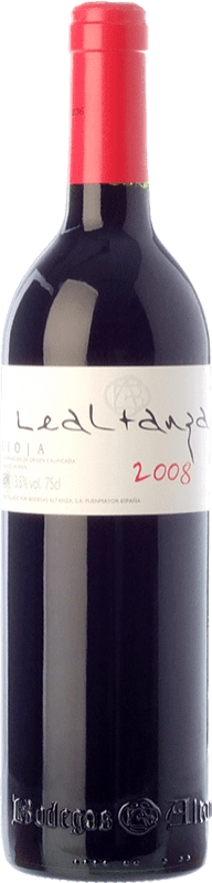 12,95 € Envío gratis | Vino tinto Altanza Lealtanza Autor Crianza D.O.Ca. Rioja La Rioja España Tempranillo Botella 75 cl