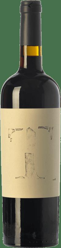 16,95 € Envío gratis | Vino tinto Altavins Tempus Crianza D.O. Terra Alta Cataluña España Merlot, Syrah, Garnacha, Cariñena Botella 75 cl