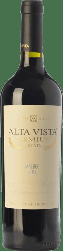 13,95 € | Red wine Altavista Premium Crianza I.G. Mendoza Mendoza Argentina Malbec Bottle 75 cl