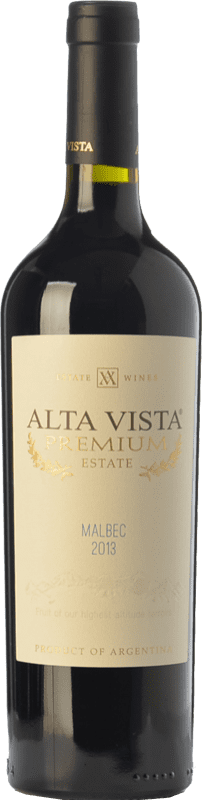 13,95 € Envoi gratuit | Vin rouge Altavista Premium Crianza I.G. Mendoza Mendoza Argentine Malbec Bouteille 75 cl