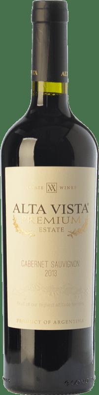 16,95 € | Red wine Altavista Premium Crianza I.G. Mendoza Mendoza Argentina Cabernet Sauvignon Bottle 75 cl
