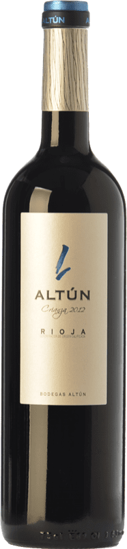 12,95 € | Red wine Altún Crianza D.O.Ca. Rioja The Rioja Spain Tempranillo Bottle 75 cl