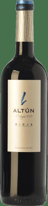 12,95 € Envío gratis | Vino tinto Altún Crianza D.O.Ca. Rioja La Rioja España Tempranillo Botella 75 cl