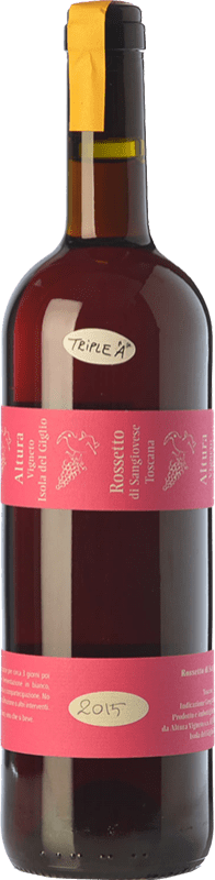 36,95 € Free Shipping | Rosé wine Altura Rossetto di I.G.T. Toscana Tuscany Italy Sangiovese Bottle 75 cl