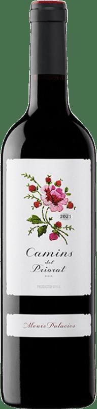 19,95 € Free Shipping | Red wine Álvaro Palacios Camins del Priorat Joven D.O.Ca. Priorat Catalonia Spain Merlot, Syrah, Grenache, Cabernet Sauvignon, Carignan Bottle 75 cl