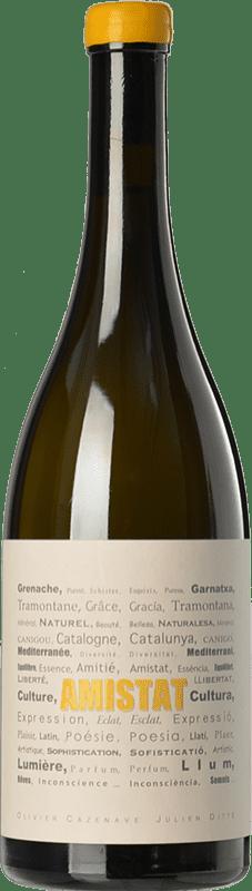 31,95 € | White wine Amistat Blanc France Grenache White, Grenache Grey, Macabeo Bottle 75 cl