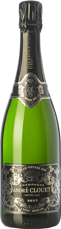 56,95 € Free Shipping | White sparkling André Clouet Dream Vintage Grand Cru A.O.C. Champagne Champagne France Chardonnay Bottle 75 cl